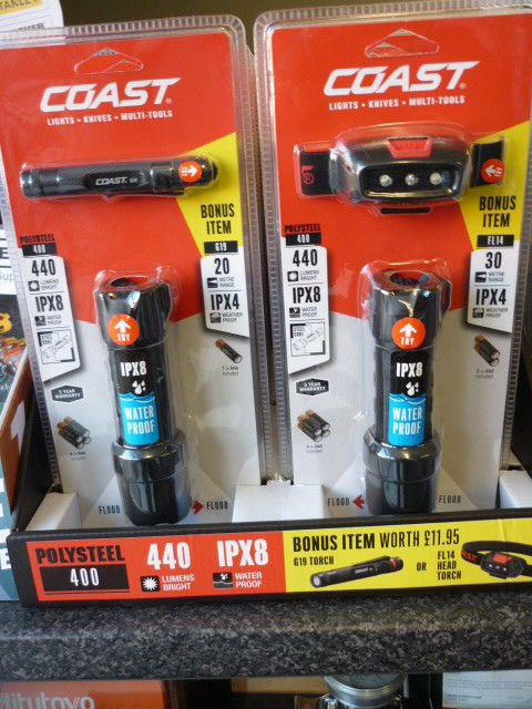 Coast Polysteel 400 Lumens Torch & Inspection Light-TL0146