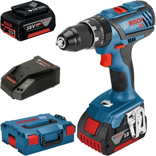 Bosch Combi Drill with 2 x batteries - TB0506