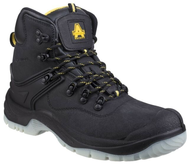 Amblers FS198 Hard Wearing Black Safety Boots