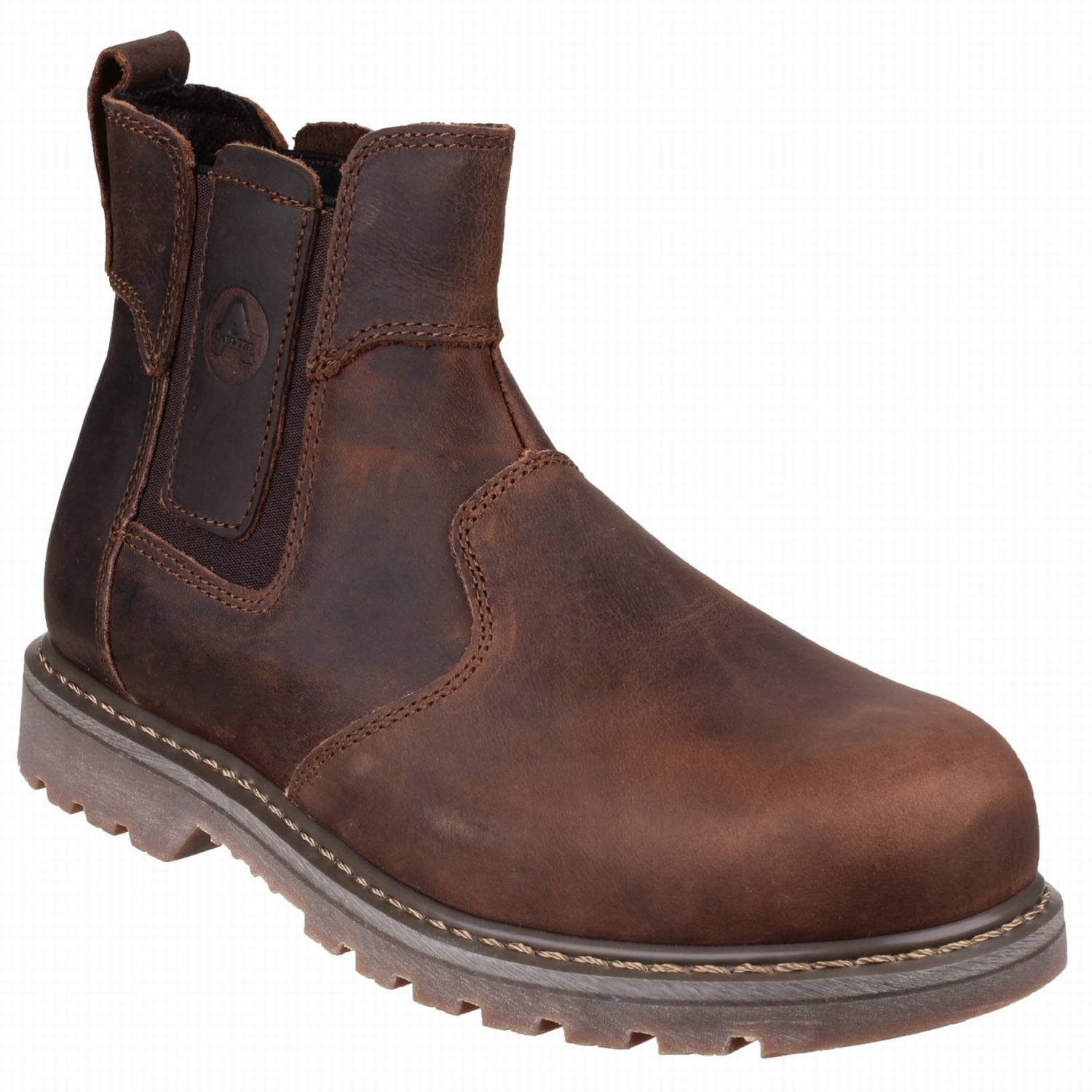 Amblers FS165 Brown Dealer Welted Safety Boots