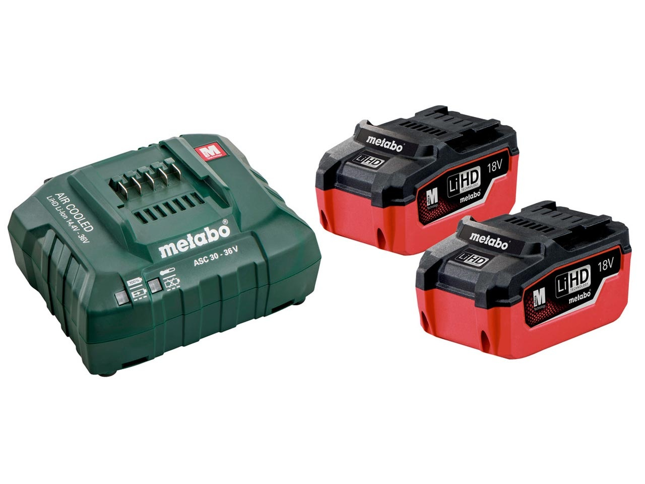 Metabo 18V Starter Battery Kit (685122000)