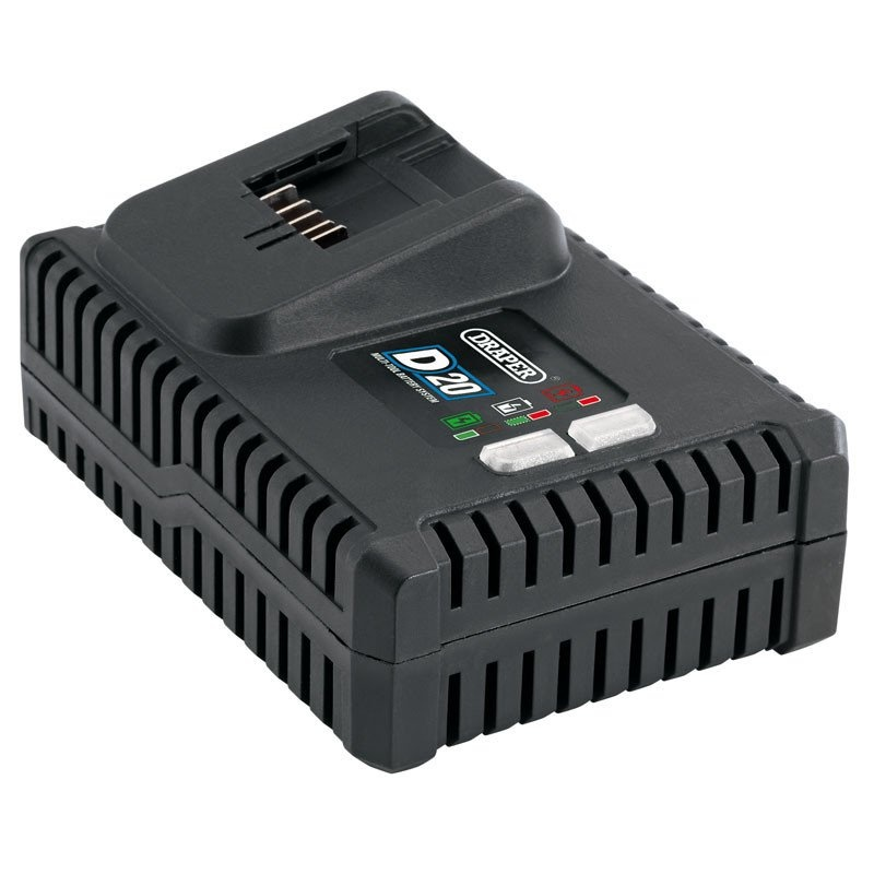 Draper 20V D20 Fast Battery Charger