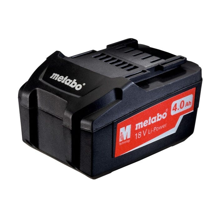 Metabo 18V, 4.0Ah Li-Ion Battery Pack