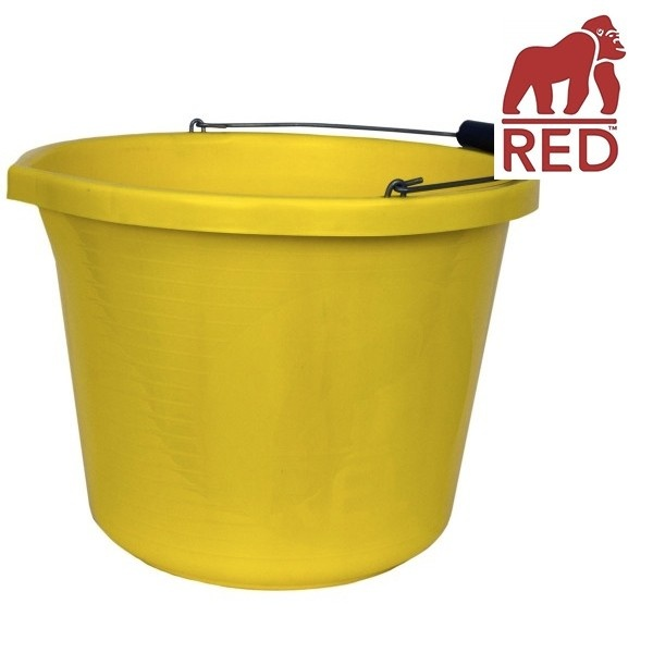 Yellow Gorilla Bucket Small 10L