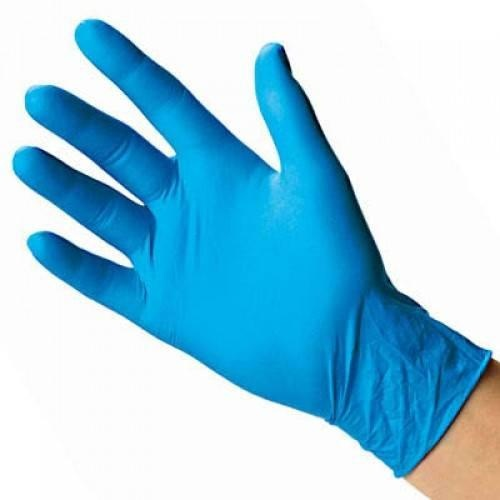 Transform Blue Nitrile PF Gloves (Pack 100)