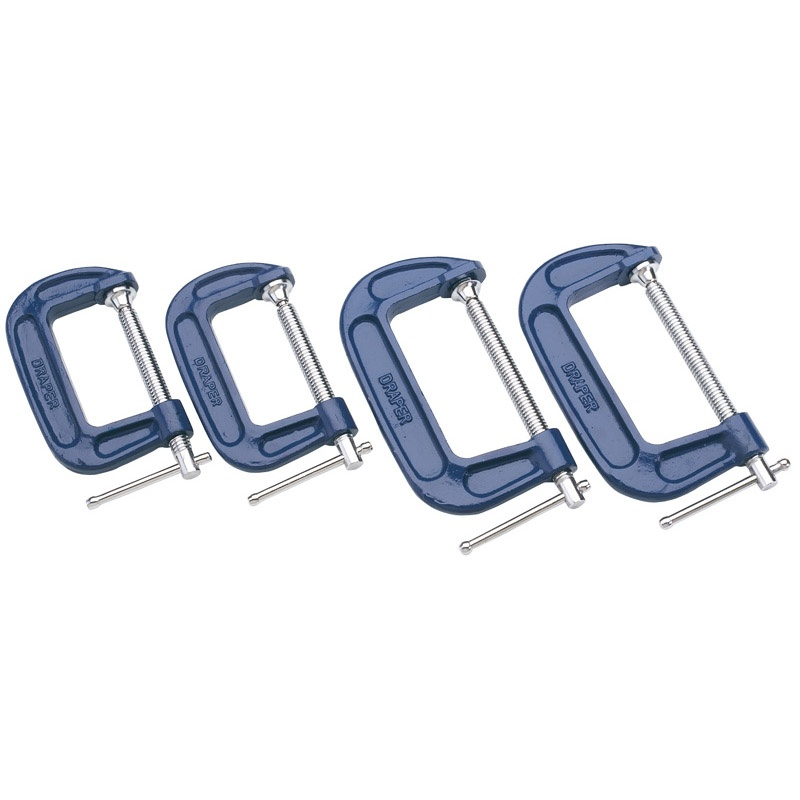 Draper C Clamp Set (4 Piece)