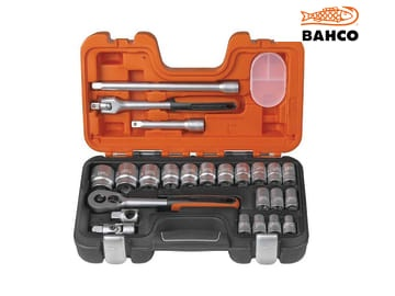 "Bahco 24 Piece 1/2"" Drive Socket Set"