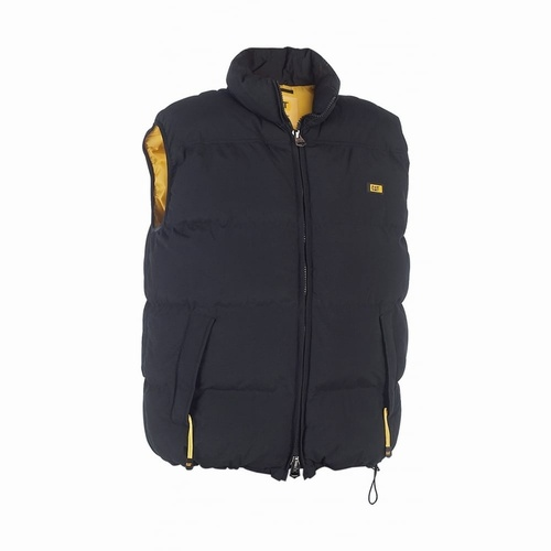 CAT Large Black Artic Zone Vest Bodywarmer