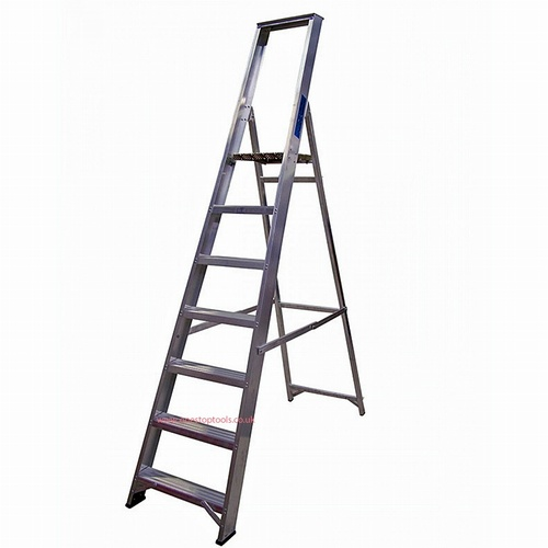 Industrial Aluminium Plat Form Stepladder with Tool Tray BSBP5/7