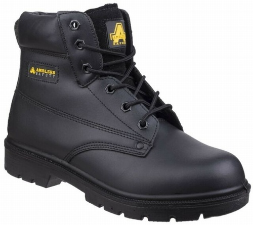 Amblers FS159 Black Hard Wear Safety Boots