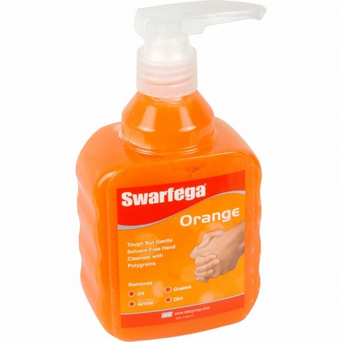Swarfega Orange Pump Bottle Hand Cleaner 450ml