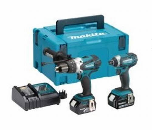 Makita DLX2145TJ 18V Twin Pack 3 X 5.0 Ah