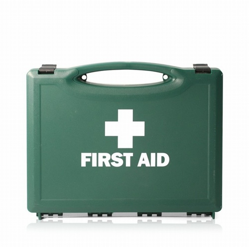 HSE 1 Person First Aid Kit in Green Box