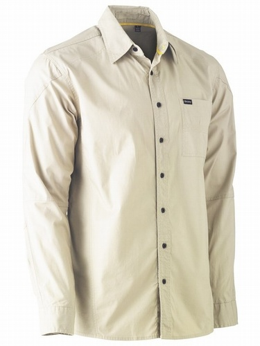 Bisley Flex & Move Stone Stretch Shirt