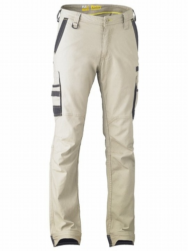 Bisley Flex & Move Stone Stretch Utility Cargo Trouser