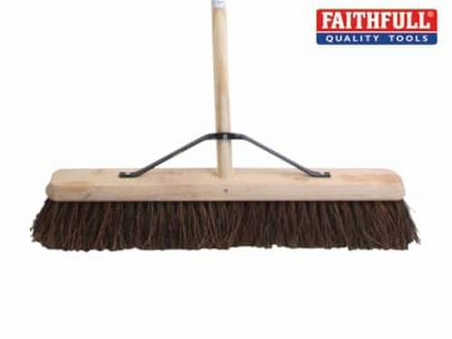 Stiff Bassine Broom 60cm (24in) + Handle & Stay