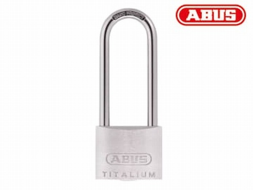 64TI/40mm TITALIUM™ Padlock 63mm Long Shackle Carded