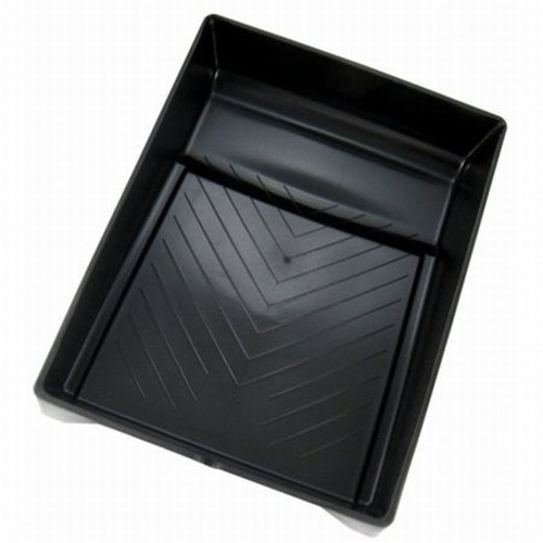 "7"" Black Plastic Paint Tray"
