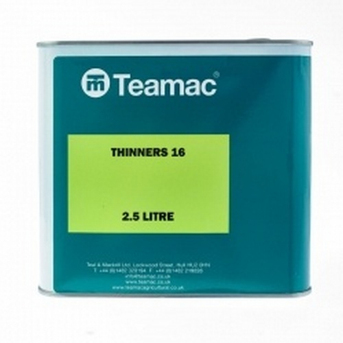 2.5 Ltr Teamac 16 Thinners