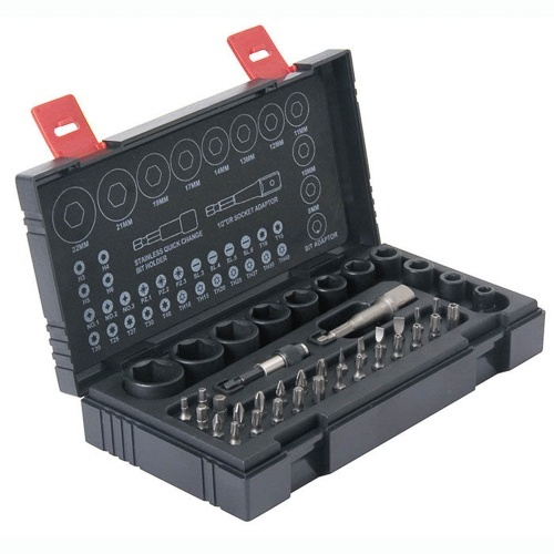 Hikoki 41 Piece Impact Socket & Bit Set