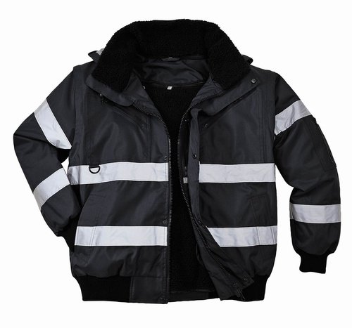 Iona Large Black 3 in 1 Bomber Jacket