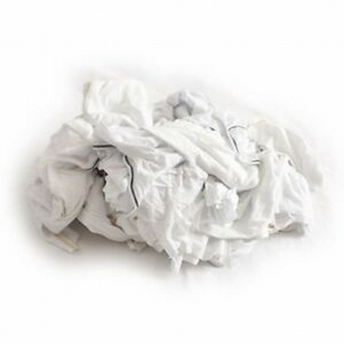 8KG Bags White Towelling Rags