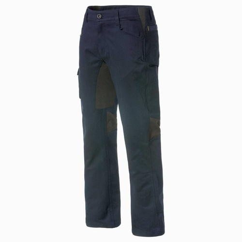 CAT Navy 34S Operator Flex Trousers